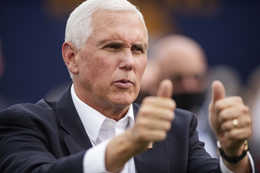 Oops: VP Mike Pence missing from some Michigan ballots