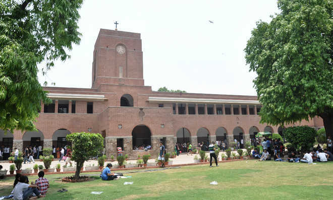 St Stephen's College releases first cut-off list for undergraduate courses