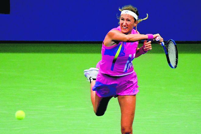 Azarenka blitzes Mertens to dance into US Open semis