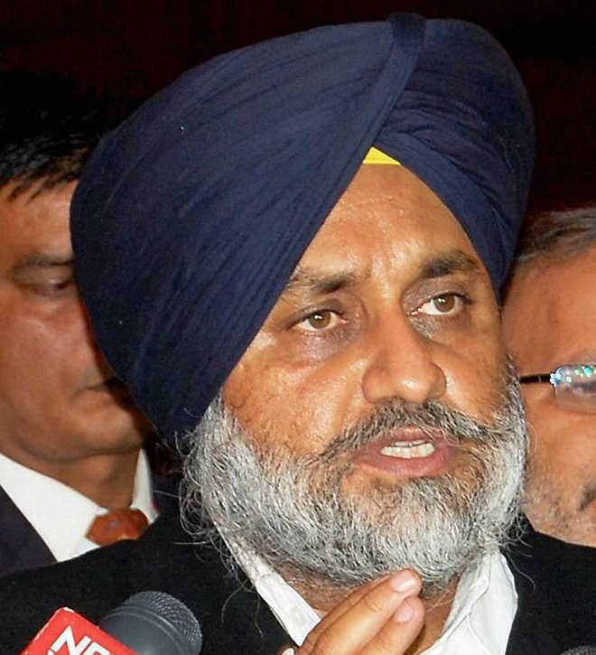 Sukhbir criticises Centre's decision to leave Punjabi out of J-K language Bill