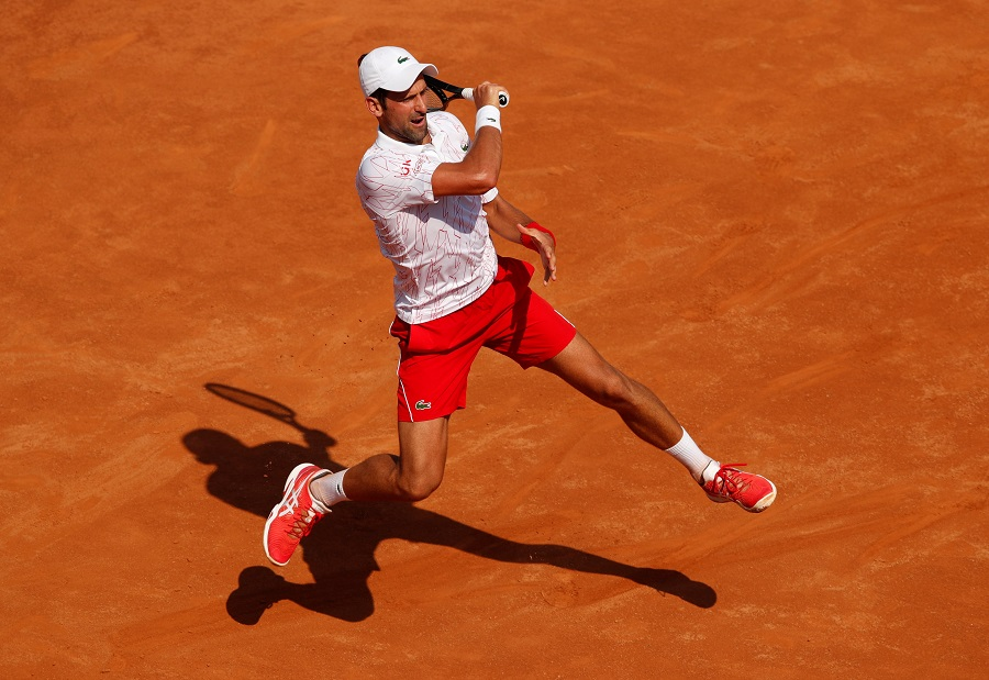 Djokovic Back To Winning Ways In Rome After Us Open Default