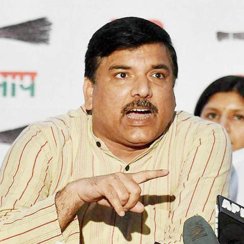 AAP MP Sanjay Singh to appear before UP Police in sedition case