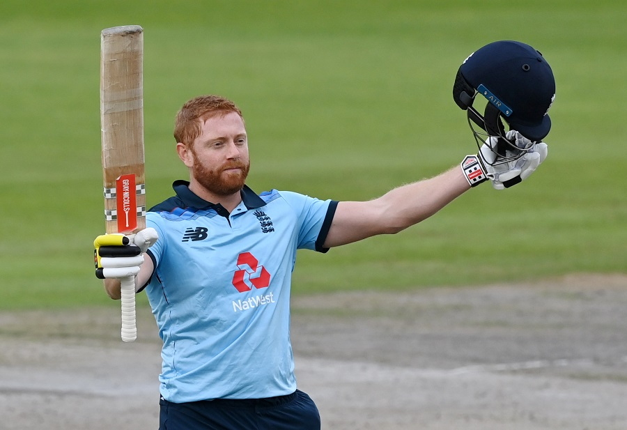 Bairstow 112, England recover to post 302-7 in deciding ODI