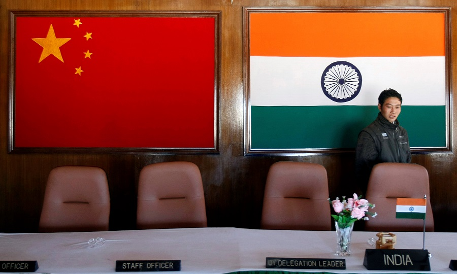 India again rejects China's 1959 claim line