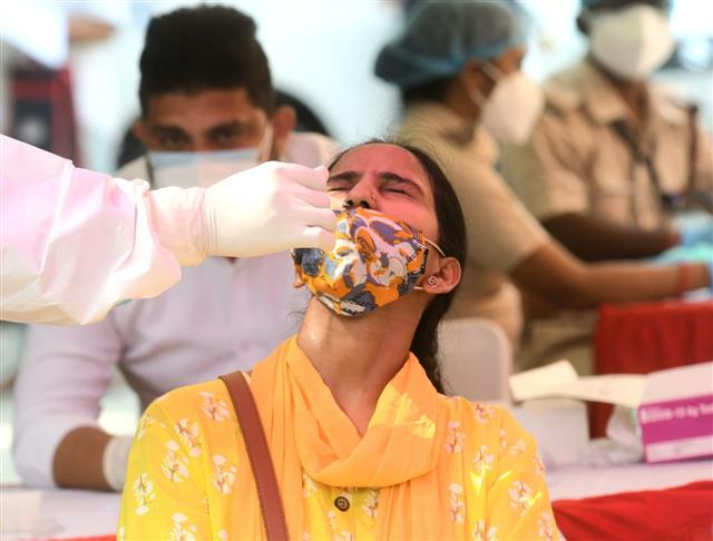 India's new Covid-19 infections at lowest in nearly a month