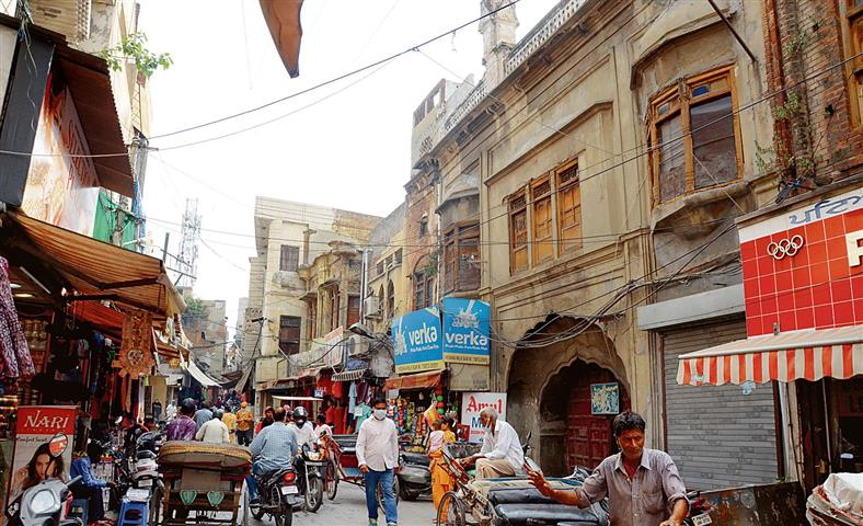 Rampant development, change in Jalandhar city ate up the 12 kots
