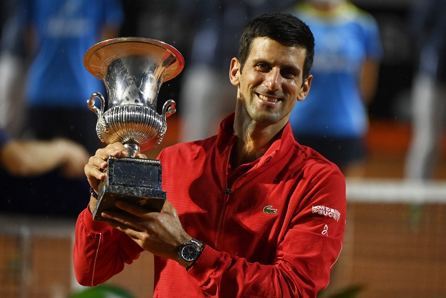 Djokovic Wins Rome Title Says I Moved On After Us Open Default