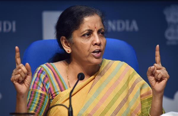 FM Sitharaman presents first batch of supplementary demands; seeks additional Rs 2.35 lakh cr