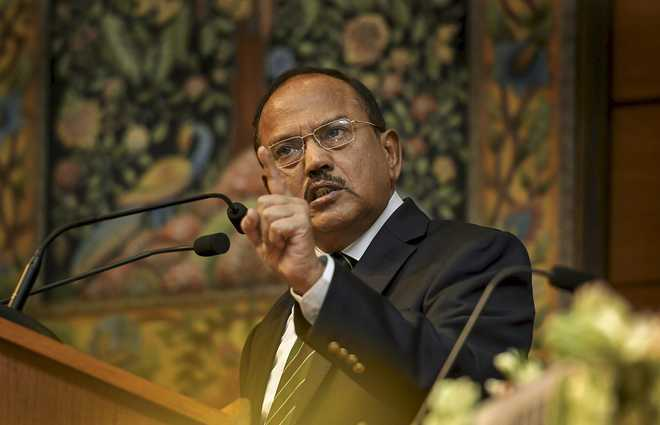 Doval walks out of SCO NSAs' meet over 'new' Pakistan map - The Tribune India
