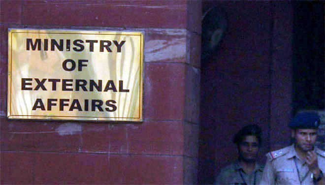 'Snooping' raised: Ministry of External Affairs