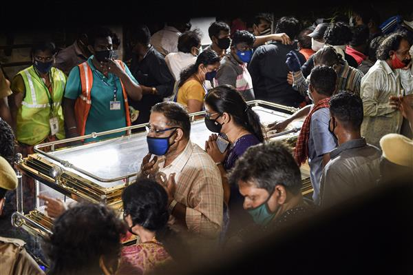SP Balasubrahmanyam laid to rest with state honours