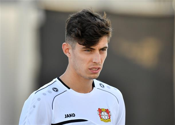 Chelsea complete signing of Havertz from Bayer Leverkusen