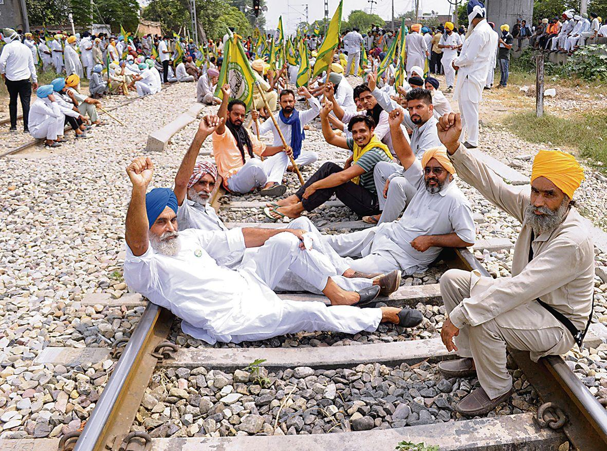 Farmers' bandh today, Tomar blames Cong - The Tribune India