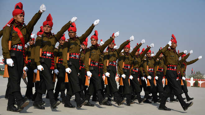 Over 400 youths inducted into Army's Punjab Regiment : The Tribune India