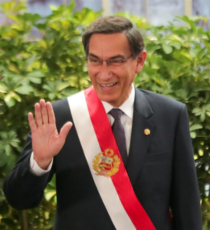 Peru Congress Votes Against Impeachment of President Vizcarra