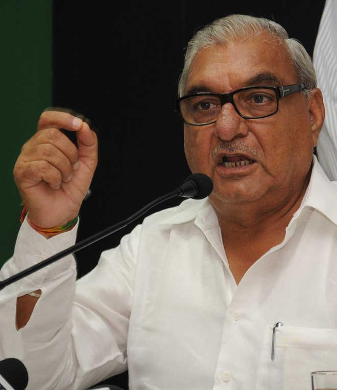 Bhupinder Hooda  seeks relief  for cotton  growers