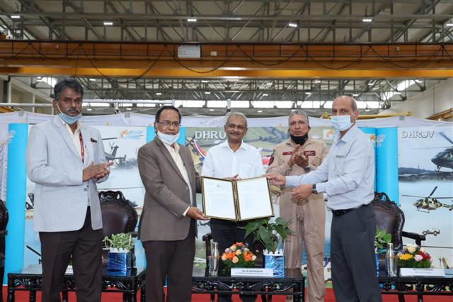 HAL rolls out 300th ALH Dhruv