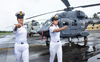 In a first, two women officers to operate helicopters from warships