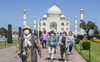 Taj Mahal, Agra Fort reopen; only 2,500 visitors permitted in one shift