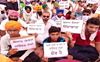 Farmers continue rail blockade in Amritsar