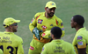 It's Rajasthan Royals again and Dhoni gets upset with umpire reversing his dismissal decision