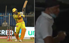 IPL 2020: Dhoni's massive six lands outside Sharjah stadium; 'lucky' fan walks away with ball; watch