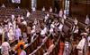 Lok Sabha adjourned for an hour as MPs sit in dharna in Rajya Sabha blocking seats