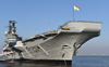 Decommissioned aircraft carrier 'Viraat' sails into oblivion