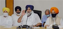 Farm bills can have disastrous implications for national economy: Sukhbir Badal