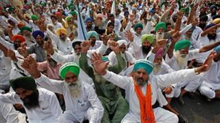 Farmers in Punjab begin their protest against farm Bills