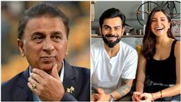 Gavaskar creates controversy with comment on Kohli and Anushka