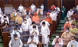 Masks, shields, distance: New-look Lok Sabha meets under looming Covid shadow