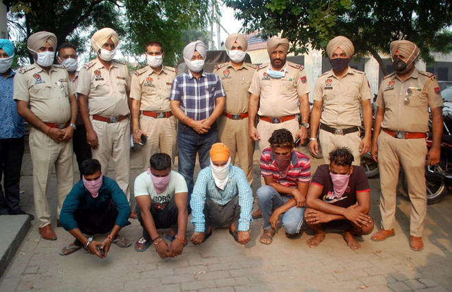 5 nabbed for Sultanwind robbery