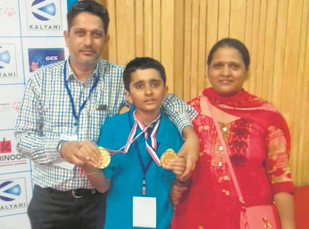 Beating autism: With therapy, Bhavik managed to swim against the tide
