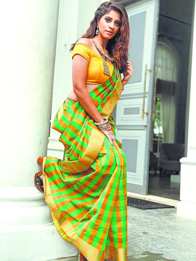Shweta Mahadik in a new look