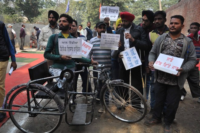 Recruitment of disabled in Local Bodies Dept hangs fire