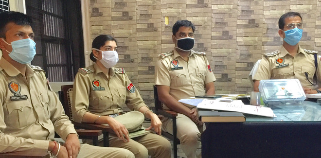 Two held for kidnapping village youth, pistol seized