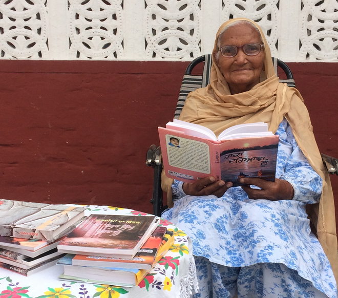 For the love of culture, she's still active at the ripe age of 83