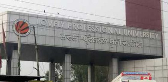 Lovely Professional University sixth best institute in India