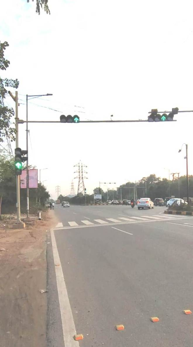 CCTV cameras nail Faridabad  traffic offenders