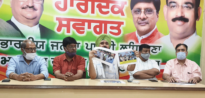 Case against state party chief political vendetta, claims BJP