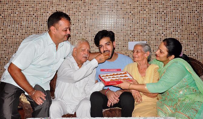 Raghav tops in Amritsar, scores AIR 632