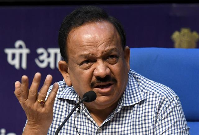 No data of dead healthcare staff: Harsh Vardhan