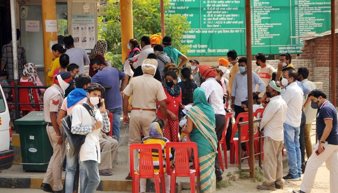 Amritsar District sees two-fold increase in +ve cases in last 20 days