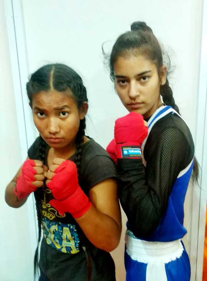 Two Himachal girls get entry into int'l mixed martial arts league