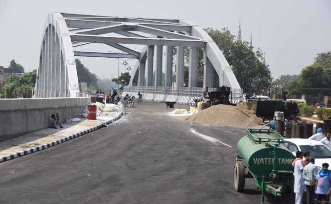 Finally, Jagraon Bridge all set for reopening