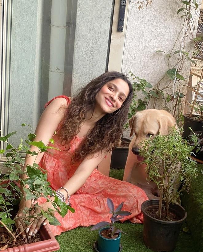 Ankita Lokhande joins #Plants4SSR campaign