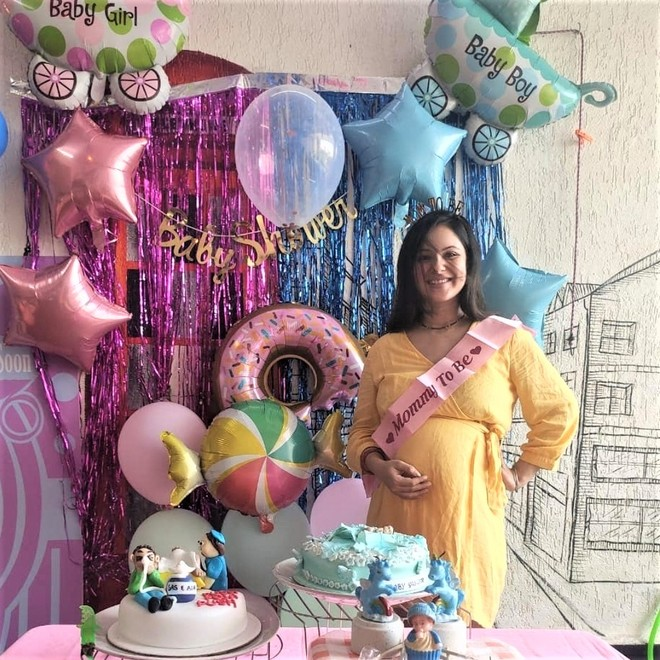 Kunal Verma throws a surprise baby shower for wife Puja Banerjee