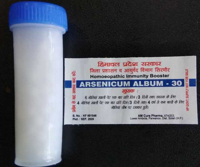 Immunity booster drug for Nahan, Paonta households
