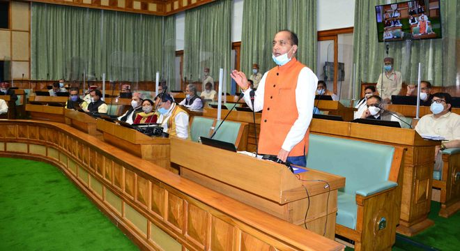 Uproar in House over Himachal CM's remarks